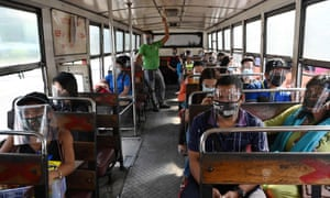 Many in the Philippines are now facing a new norm where public transport is now mandatory in both public places and public transport to prevent the spread of the virus.