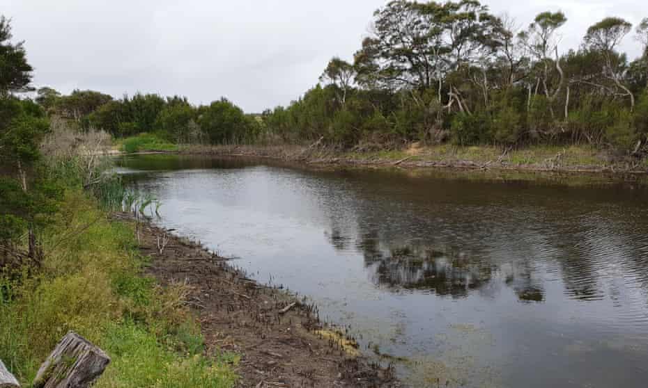 Warrigal Creek in Gippsland, Victoria