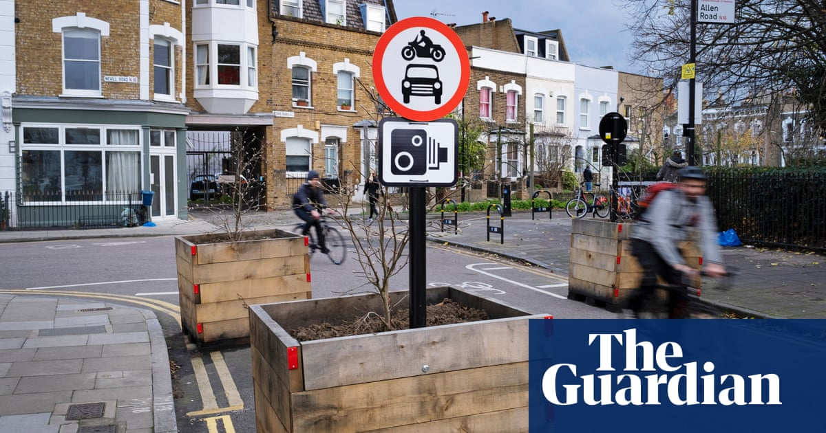 Critics of UK low-traffic schemes told that 25,000 filters already existed