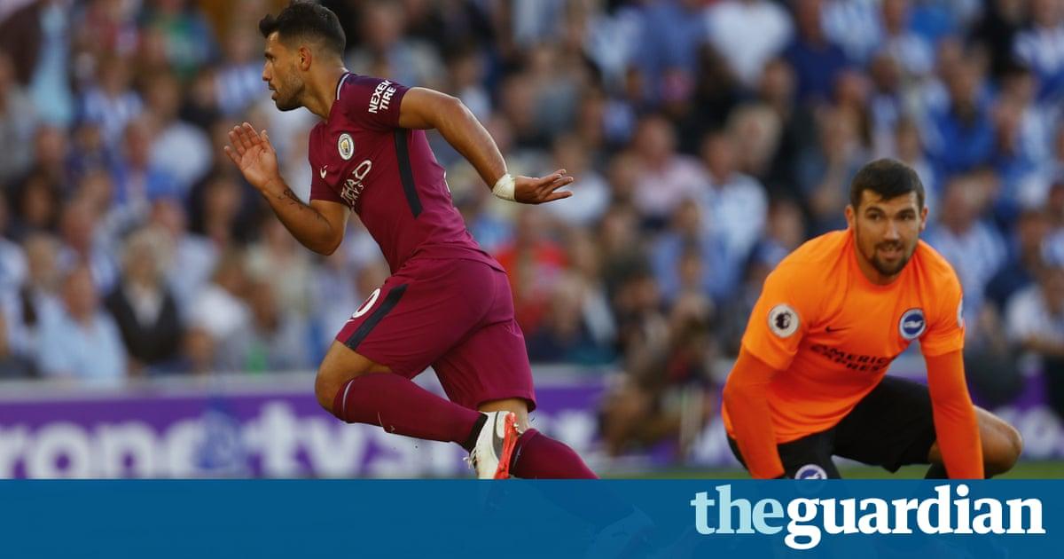 Brighton 0-2 Manchester City: Premier League –as it happened