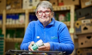 Annette Smith was awarded public servant of the year for setting up the Morecambe food bank