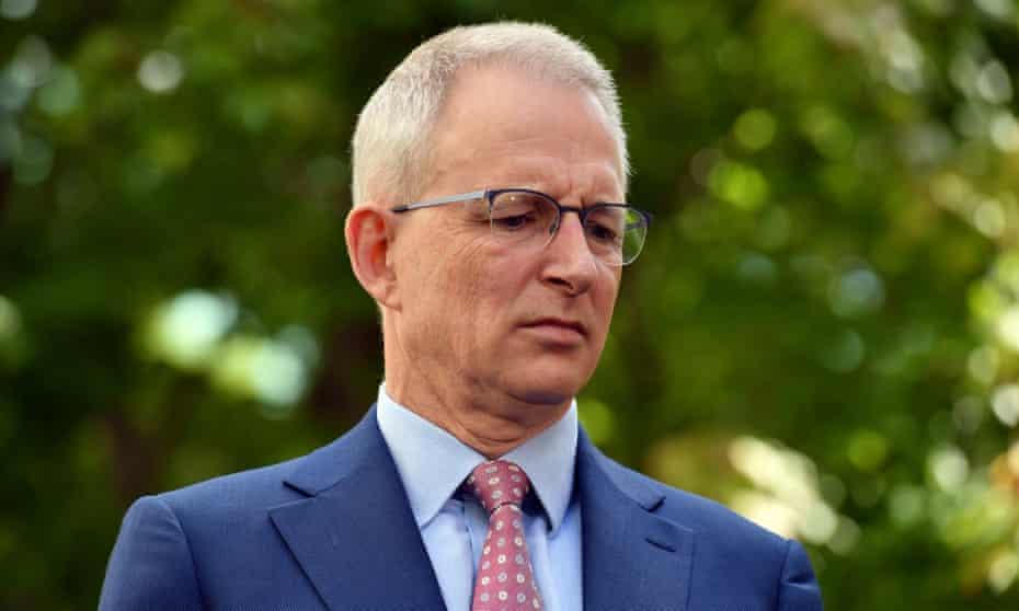 Minister for infrastructure Paul Fletcher