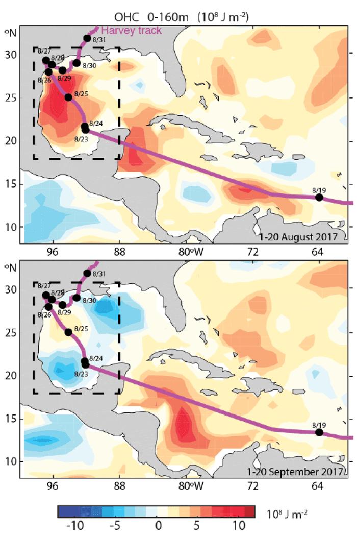Global warming made Hurricane Harvey more destructive   John