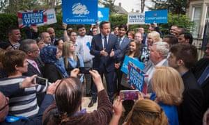 David Cameron in Peterborough