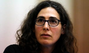 Sarah Koenig, producer and host of the podcast Serial.