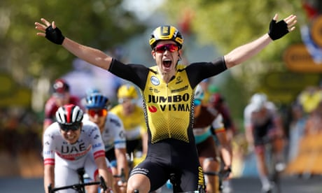 Tour de France 2019: Wout van Aert wins stage 10 in photo-finish – as it happened