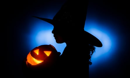 The lawsuit says that the girl was approached by costumed ghouls and pleaded with them to go away because she did not want to be scared.