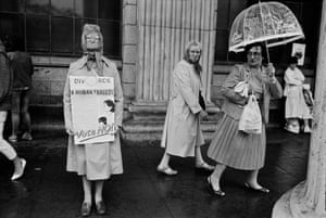 Divorce referendum protest at the GPO Dublin, 1986