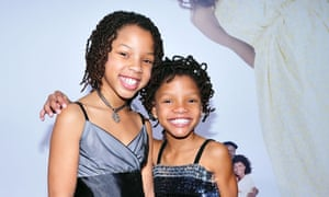 Sister act ... on the red carpet for Meet The Browns in 2008.