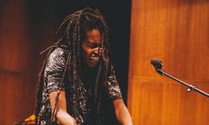 Apocalyptic fervour ... Moor Mother performing in Philadelphia in 2016.