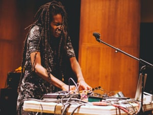 'It was a struggle' … Moor Mother playing live in Philadelphia.