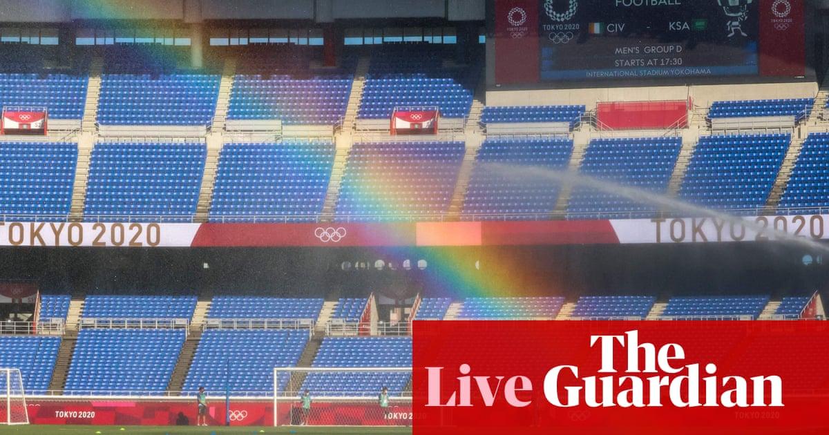 Tokyo 2020 Olympics: final countdown plus men's football kicks off – live!