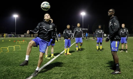 The White Hart Lane club ready for action: Haringey living FA Cup dream