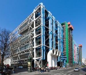 Pompidou Centre, Paris, France.
