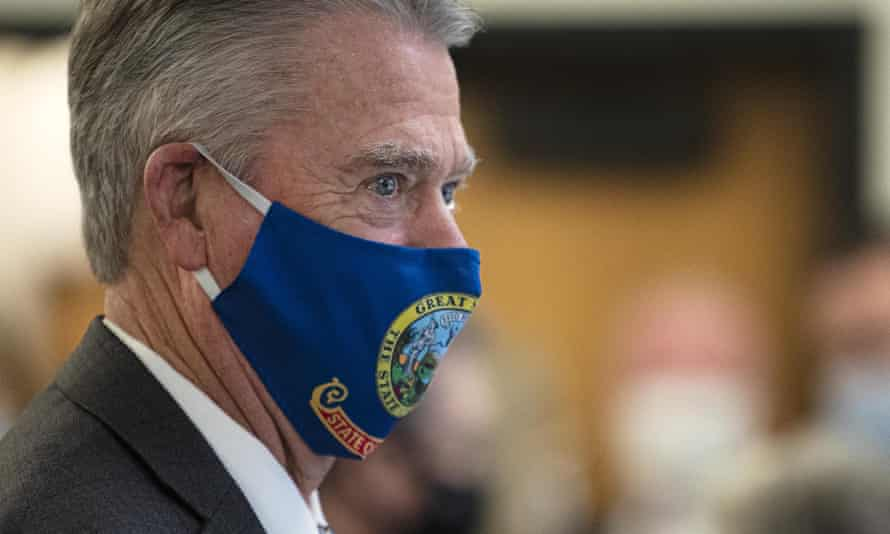 Governor Brad Little of Idaho.