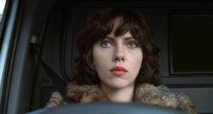 Scarlett Johansson in the 2013 film adaptation of Under the Skin.