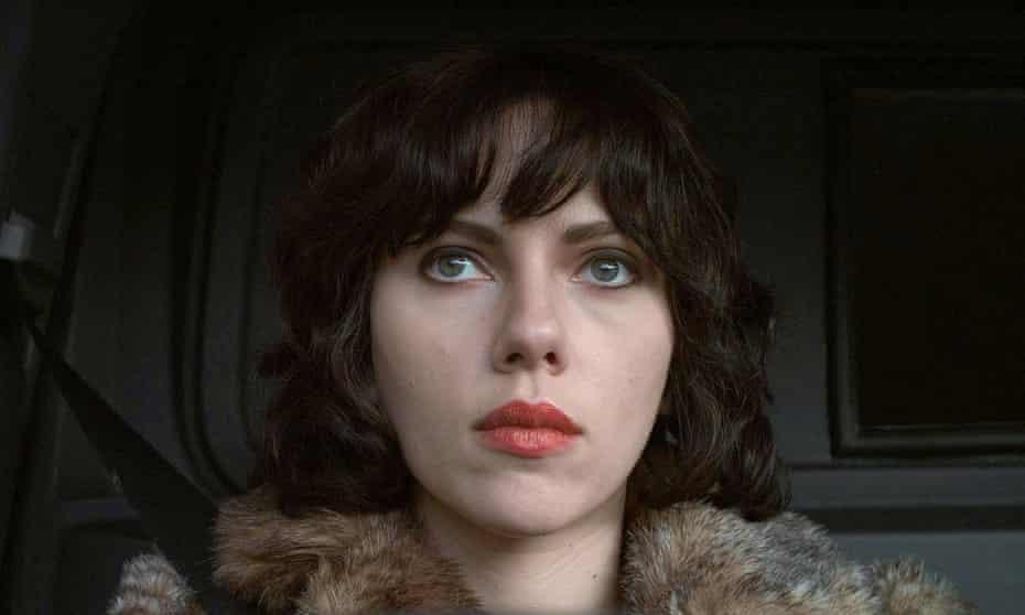 Scarlett Johansson in the 2013 adaptation of Michel Faber's Under the Skin.