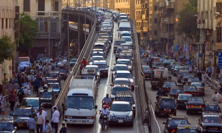 Guapa imagines an unnamed Arab city clogged with cynical cab drivers and home to refugees. Photograph: Alamy Stock Photo