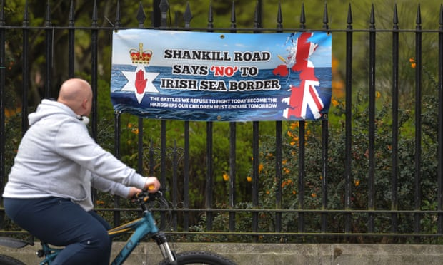 Northern Ireland,Brexit,Democratic Unionist party,Edwin Poots,David Campbell,harbouchnews