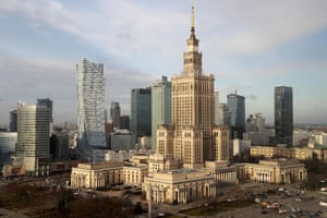 Palace of Culture and Science, Warsaw.