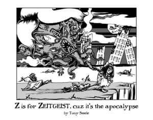 Z is for Zeitgeist, cus it's the apolocalypse.