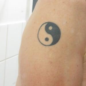 yin and yang tattoo