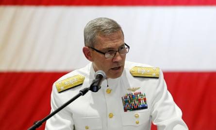 Vice-admiral Scott Stearney