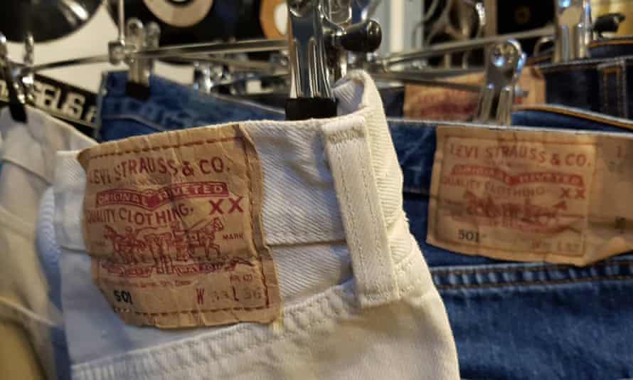 Vintage jeans at Freep'show, Bordeaux