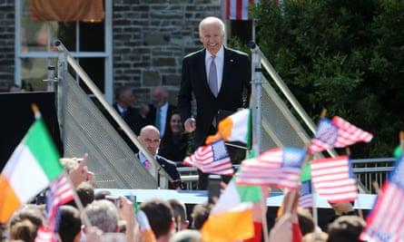 Joe Biden in Ireland in June 2016
