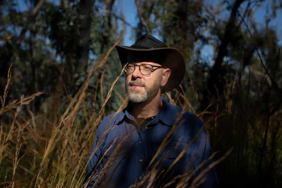 Dr Steve Douglas in bushland near his home in Bundanoon.