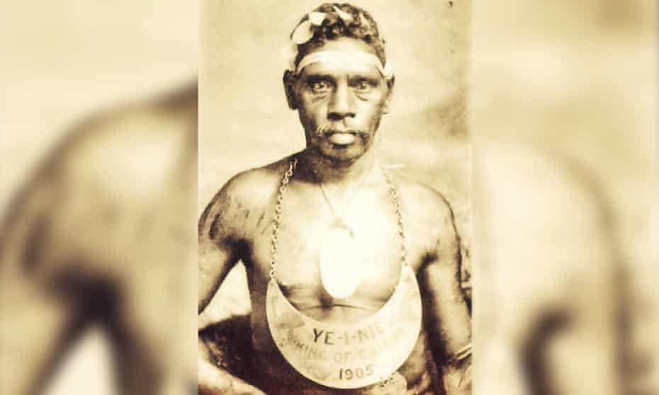 Ye-I-Nie, 'King of Cairns' and great-grandfather of Henrietta Fourmile Marrie.