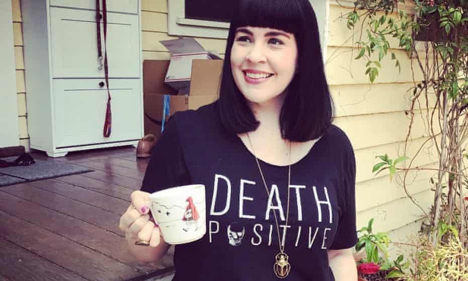 Caitlin Doughty, founder of the 'death positivity' movement.