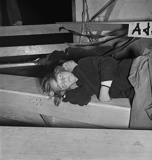 From 'Day Sleeper' by Dorothea Lange and Sam Contis.