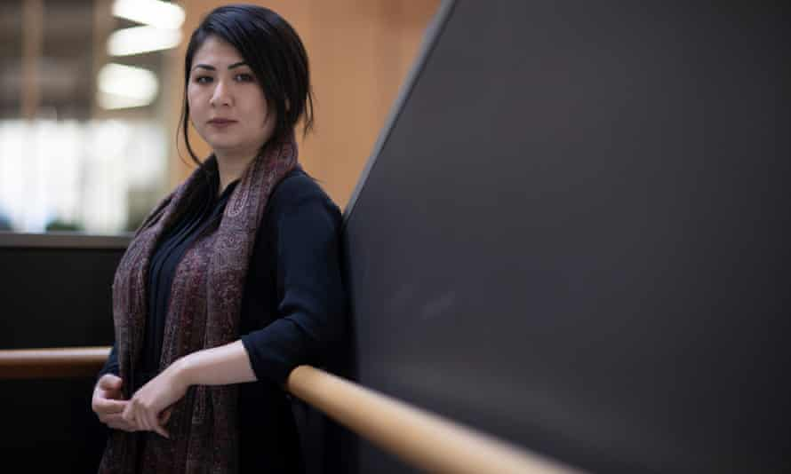Farkhondeh Akbari: 'Every few weeks we mourn the death of a relative in Afghanistan.'