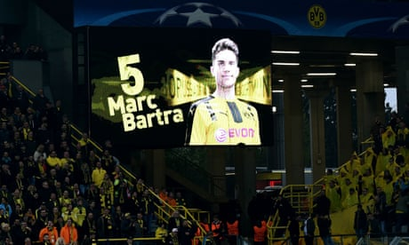 Dortmund's Marc Bartra on 'the longest and hardest 15 minutes of my life'