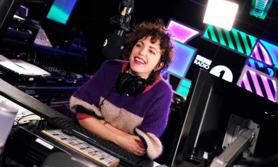 The queen of party atmosphere ... Annie Mac on BBC Radio 1.