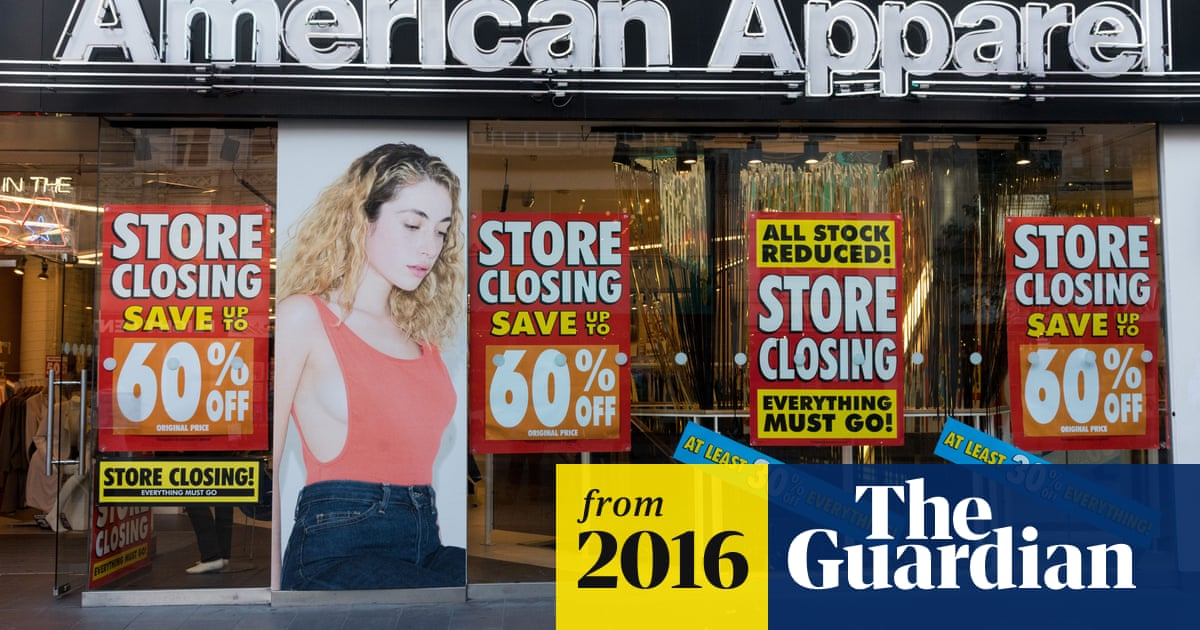 American Apparel shuts 12 of its 13 UK stores with loss of