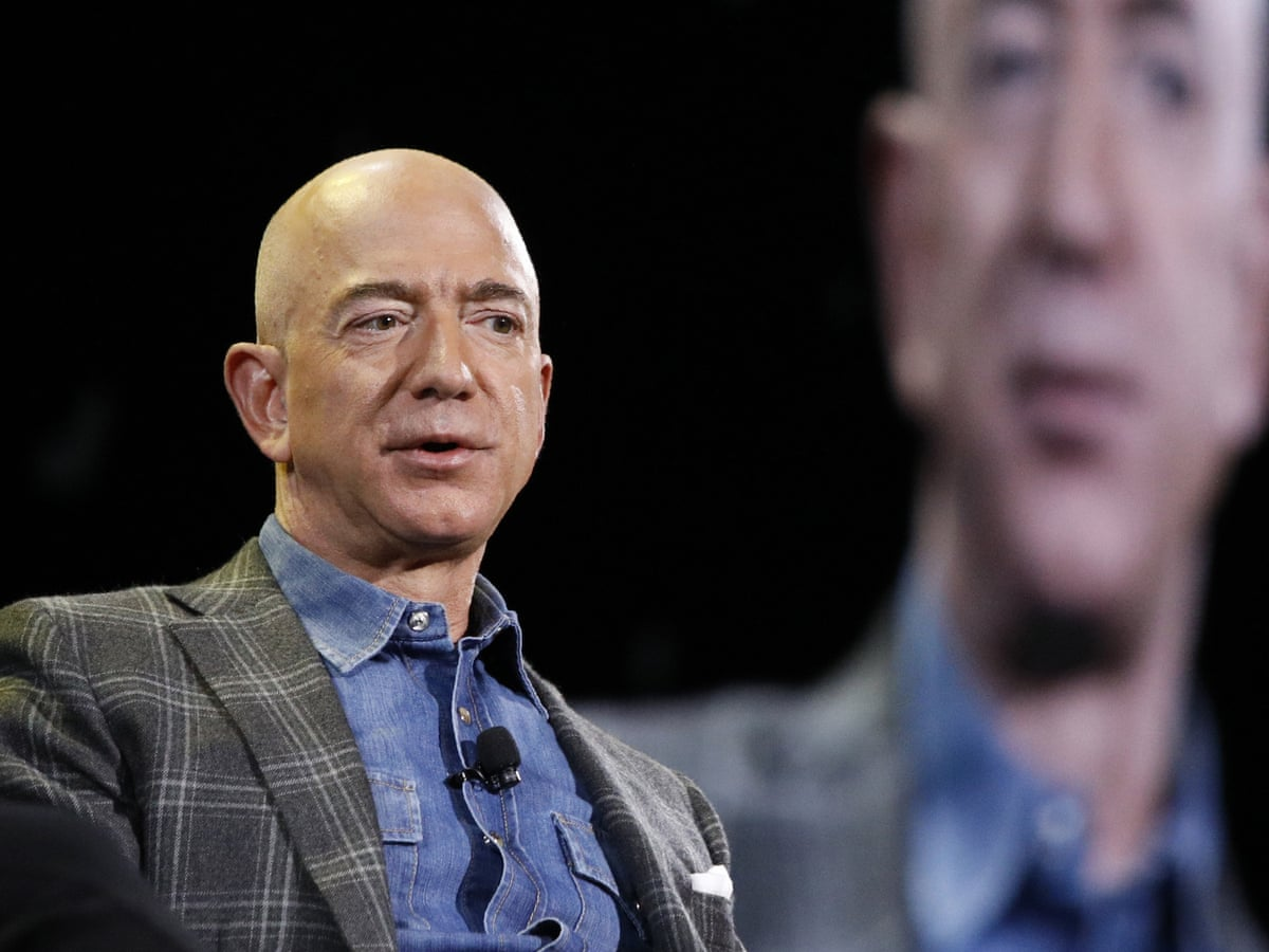 Petition urges Jeff Bezos to blast into space – and stay there | Space |  The Guardian