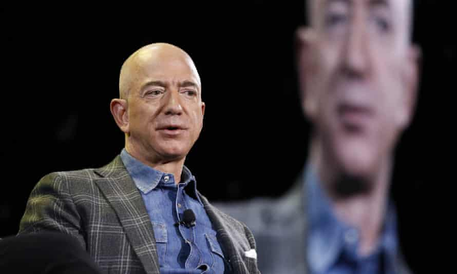 'Jeff Bezos, who keeps promising us he is going to leave Earth and go to space but here he still is, seems to believe all workers are inherently lazy'