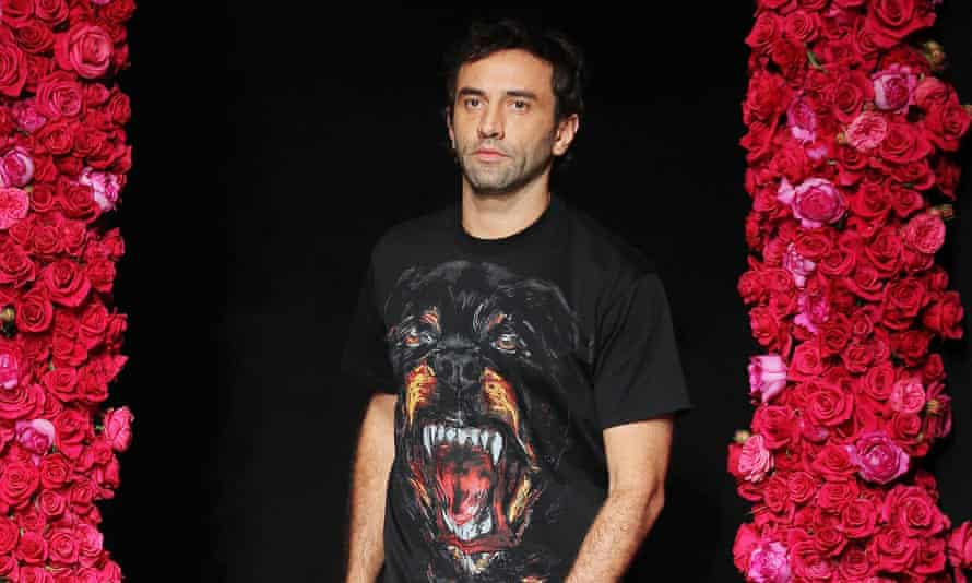 Riccardo Tisci during his Givenchy days.