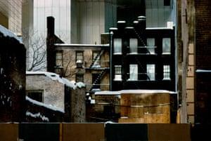 Sealed up building, 1983