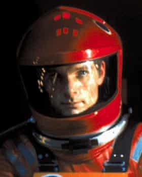 Keir Dullea as Dave Bowman in the film.