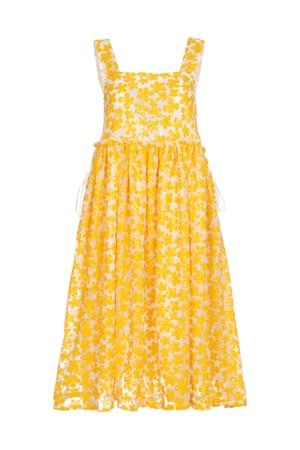 Lucia floral dress, £450, by Shrimps