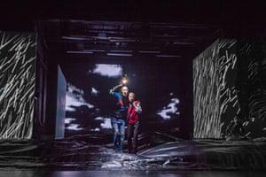 Rhys Ifans (Fool) and Glenda Jackson (King Lear)
