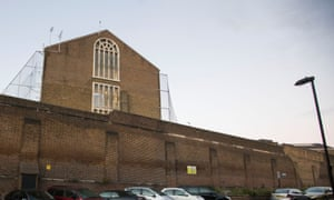 Pentonville prison, London, from where two prisoners escaped in November 2016.
