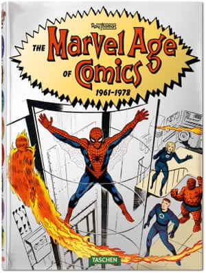 The Marvel Age of Comics 1961–1978Roy ThomasHardcover, 9.4 x 12.8 in., 396 pages US$ 59.99