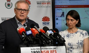 Scott Morrison and Gladys Berejiklian