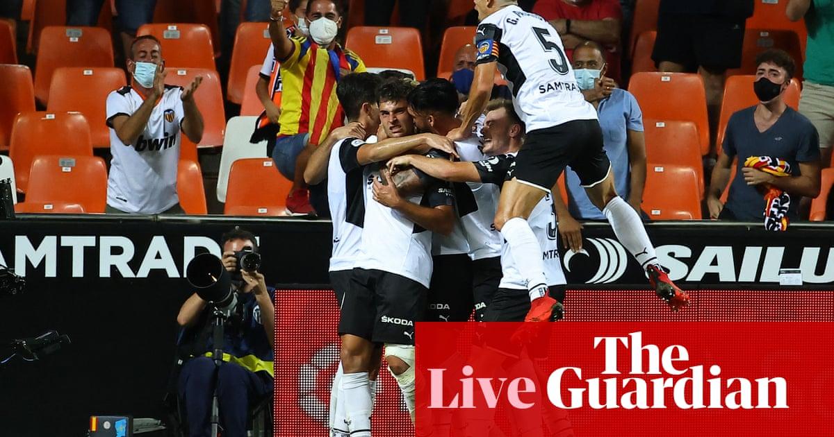 Valencia 1-2 Real Madrid: La Liga – as it happened