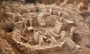 The Göbekli Tepe temple in Turkey dates to around 10,000BC.