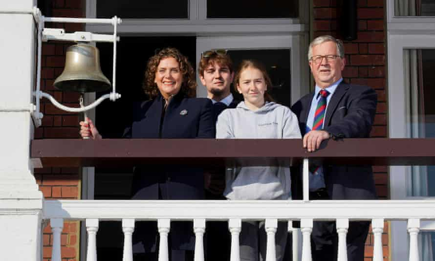 Ingram-Moore family at Lord's